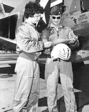 Gail Tabor at Lockbourne Air Force Base